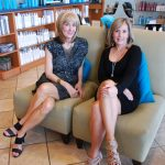 Gail and Aimee at Radiance Hair Salon